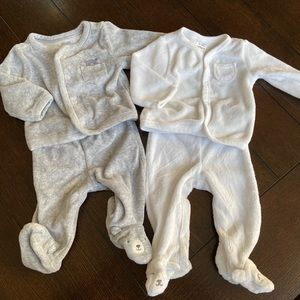 Newborn Grey Outfit, WHITE IS SOLD